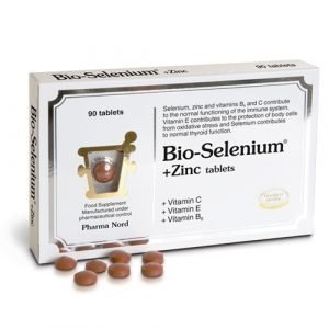 Bio-Selenium and Zinc Health Supplement 90 Tablets