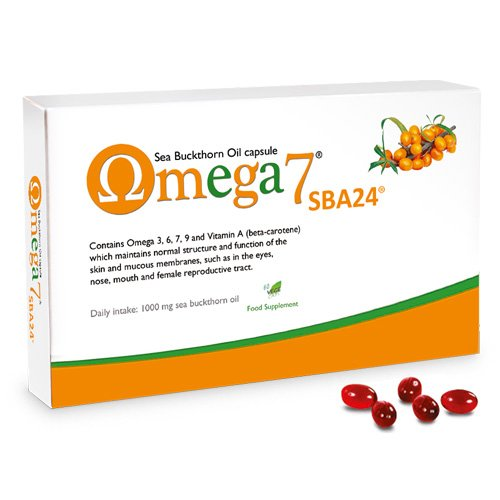 Omega 7 SBA24 Sea Buckthorn Oil Capsule Health Supplement
