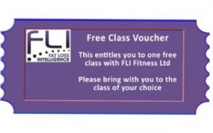 Claim your free fitness class at FLI Fitness.